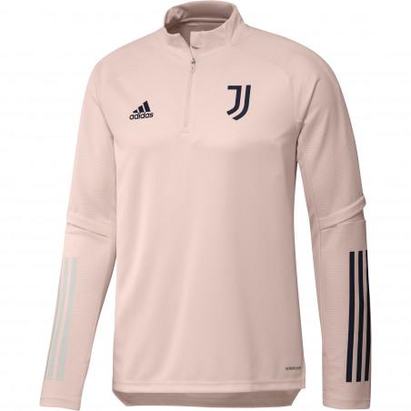Sweat zippé Juventus rose 2020/21