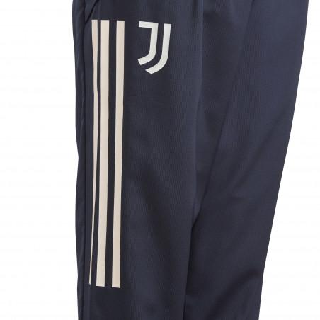 Pantalon entraînement junior Juventus bleu foncé 2020/21