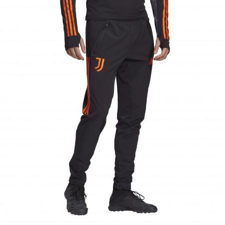 Pantalon survêtement Juventus noir orange 2020/21