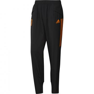 Pantalon entraînement Juventus Europe noir orange 2020/21