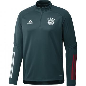 Sweat zippé Bayern Munich vert 2020/21