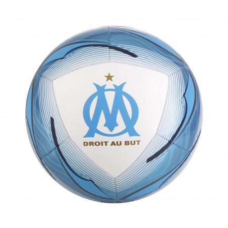 Ballon OM blanc bleu 2020/21