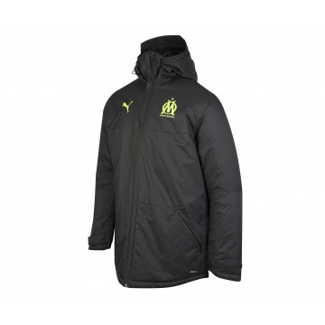Manteau OM noir jaune 2020/21