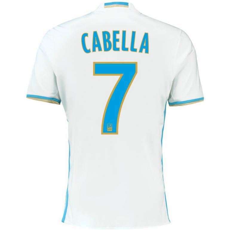 Maillot Cabella OM domicile 2016 - 2017