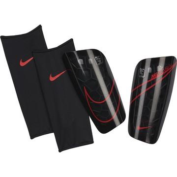 Protège tibias Nike Mercurial Lite noir rouge