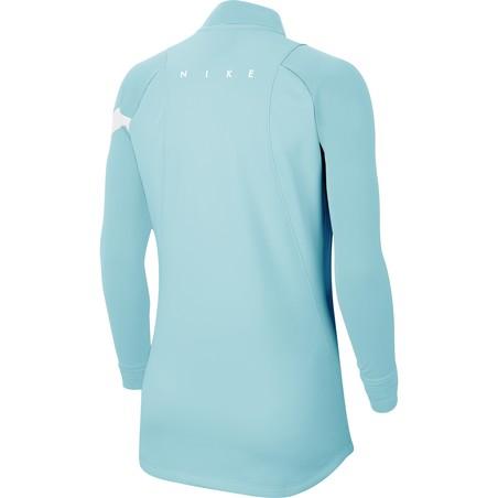 Sweat zippé Femme Nike bleu ciel