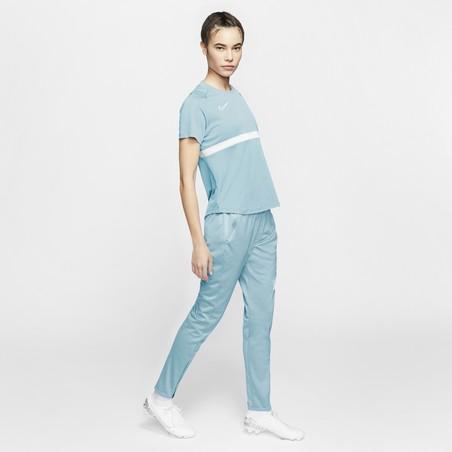 Maillot entraînement Femme Nike bleu ciel