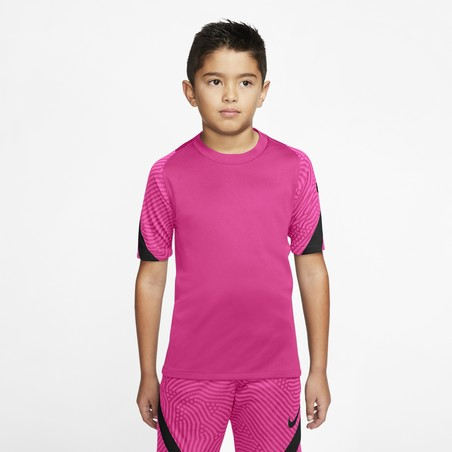 Maillot entraînement junior Nike Strike rose