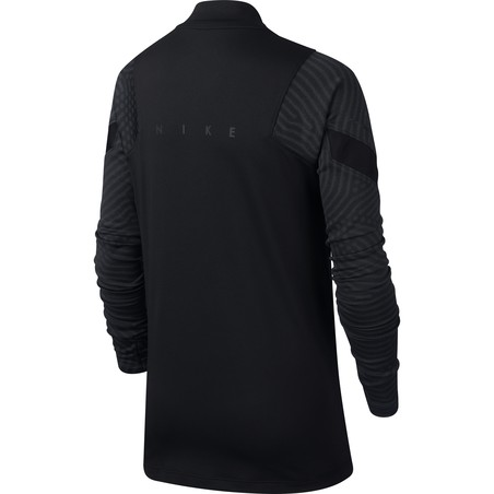 Sweat zippé junior Nike Strike noir