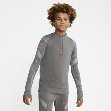 Sweat zippé junior Nike Strike gris