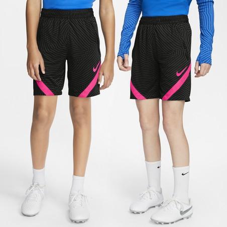 Short entraînement junior Nike Strike noir rose