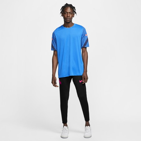 Pantalon survêtement Nike Strike noir rose