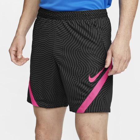 Short entraînement Nike Strike noir rose