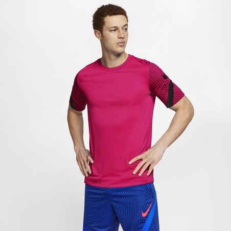 Maillot entraînement Nike Strike rose noir