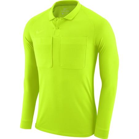 Maillot manches longues arbitre Nike jaune