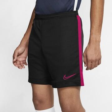 Short entraînement Nike Academy noir rose