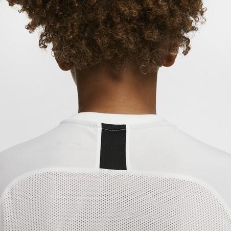 Maillot entraînement junior Nike Academy blanc