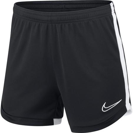 Short entraînement Femme Nike Academy noir blanc