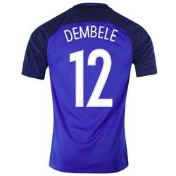 Maillot Dembele Equipe de France FFF domicile Bleu 2016