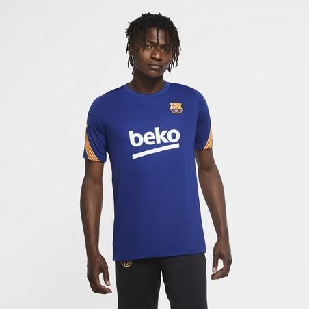 Maillot entraînement FC Barcelone bleu 2020/21