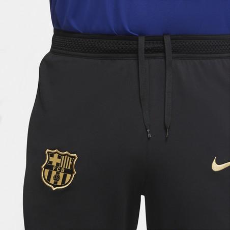 Short entraînement FC Barcelone noir or 2020/21