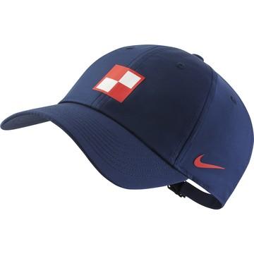 Casquette Croatie bleu 2020