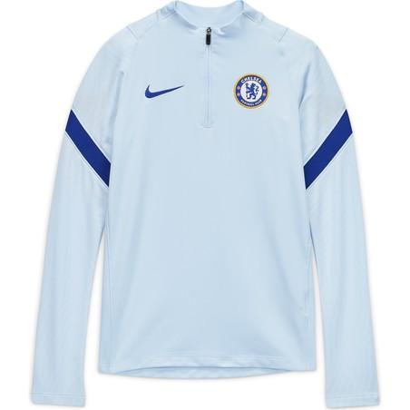 Sweat zippé junior Chelsea bleu 2020/21