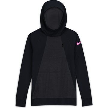 Sweat à capuche junior Nike Academy noir rose