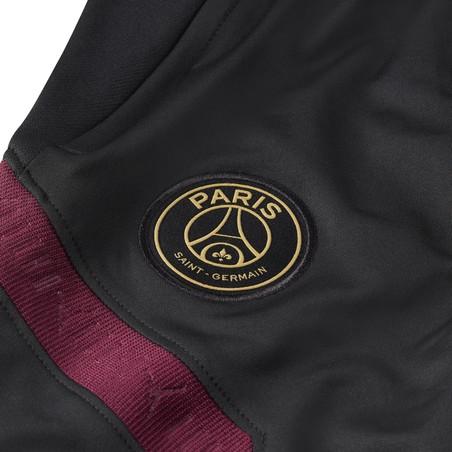Pantalon survêtement junior PSG noir violet 2020/21