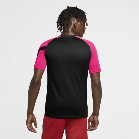 Maillot entraînement Nike rose noir