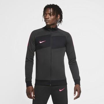 Veste survêtement Nike I96 noir rose