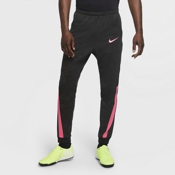 Pantalon survêtement Nike Academy noir rose