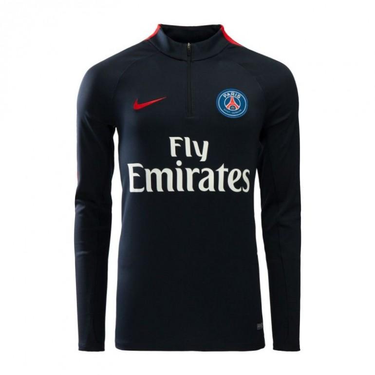 Sweat Zippé PSG noir 2016 - 2017