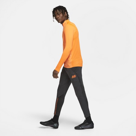 Pantalon survêtement Nike Strike Mercurial noir orange