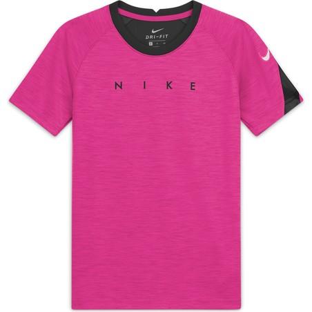 Maillot entraînement junior Nike noir rose
