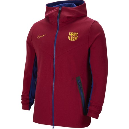 Veste survêtement FC Barcelone TechFleece rouge 2020/21