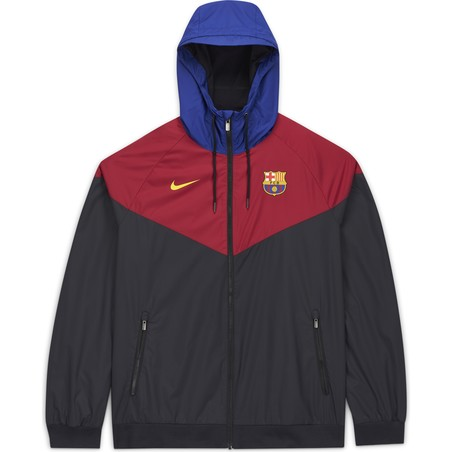 Coupe vent FC Barcelone rouge 2020/21