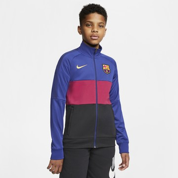VESTE SURVÊTEMENT junior FC BARCELONE I96 ANTHEM BLEU 2020/21