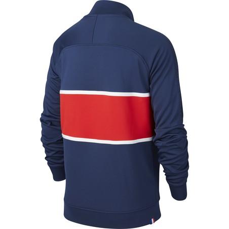 Veste survêtement junior PSG I96 Anthem bleu rouge 2020/21