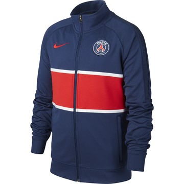 Veste survêtement junior PSG I96 Anthem bleu rouge 2020/21