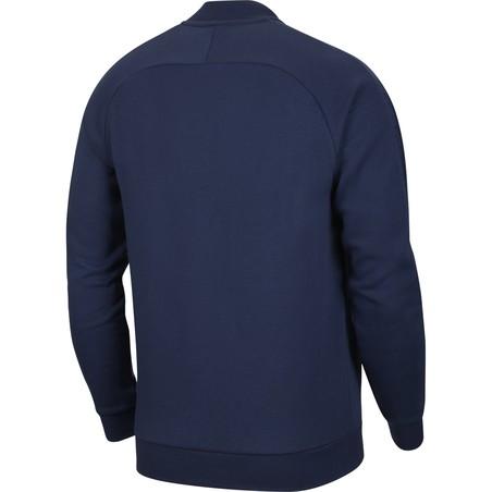 Veste survêtement PSG GFA Fleece bleu 2020/21