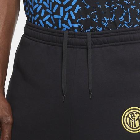 Pantalon survêtement Inter Milan GFA Fleece noir 2020/21