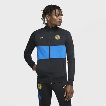 Veste survêtement Inter Milan I96 Anthem noir bleu 2020/21