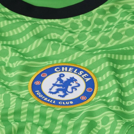 Maillot gardien manches longues Chelsea vert 2020/21
