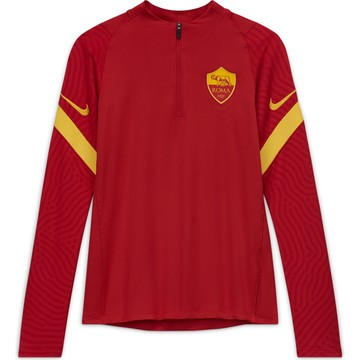 Sweat zippé junior AS Roma rouge 2020/21