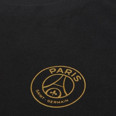 T-shirt PSG noir or 2020/21