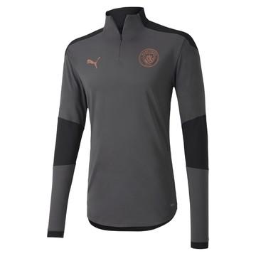 Sweat zippé Manchester City gris cuivre 2020/21
