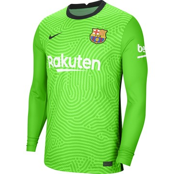 Maillot gardien manches longues FC Barcelone vert 2020/21