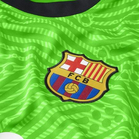 Maillot gardien manches longues FC Barcelone vert 2020/21