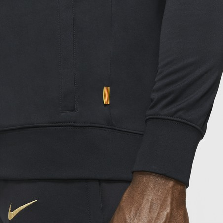 Veste survêtement FC Barcelone I96 noir or 2020/21